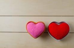 coeur d'amour, concept de valentine Photos stock