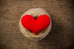 coeur d'amour, concept de valentine Photographie stock