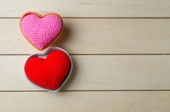 coeur d'amour, concept de valentine Photographie stock libre de droits