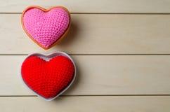 coeur d'amour, concept de valentine Images libres de droits