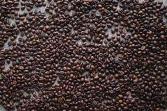 Coeur d'amour de café Images libres de droits