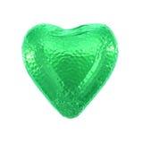 Coeur d'amour de chocolat Images stock