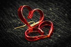 Coeur d'amour de RGlossy Image libre de droits
