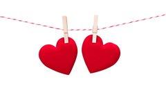 Coeur d'amour de Saint Valentin Photographie stock
