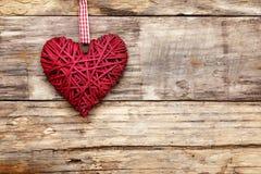 Coeur d'amour de Saint Valentin Photo stock