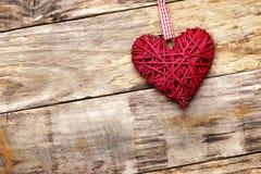 Coeur d'amour de Saint Valentin Images libres de droits