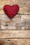 Coeur d'amour de Saint Valentin Photo libre de droits