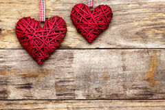 Coeur d'amour de Saint Valentin Photos stock
