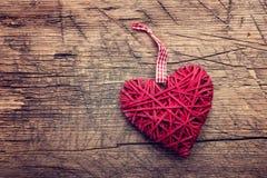 Coeur d'amour de Saint Valentin Images stock
