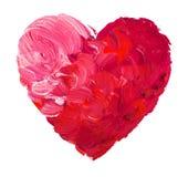 Coeur d'aquarelle. Concept - amour, relations, Images stock