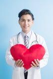 Coeur d'exposition de docteur à vous Image libre de droits