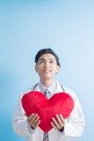 Coeur d'exposition de docteur à vous Photographie stock