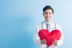 Coeur d'exposition de docteur à vous Photographie stock libre de droits