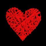 Coeur d'isolement Image libre de droits