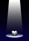 Coeur d'orientation Images stock