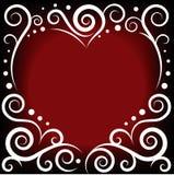 Coeur d'ornement Images libres de droits
