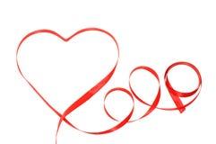 Coeur d'un concept d'amour de bande Image libre de droits
