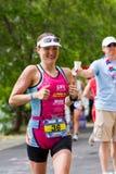 Coeur dAlene Ironman rinnande händelse Royaltyfria Foton