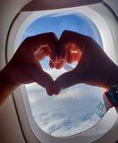 Coeur dans le sauvage image libre de droits