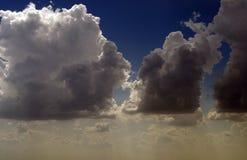 Coeur dans les nuages Images libres de droits