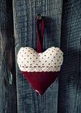 Coeur dans les points photos stock