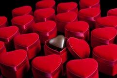 Coeur dans une boîte Images stock