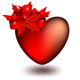 Coeur décoré Photo stock