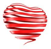 Coeur de bande illustration stock