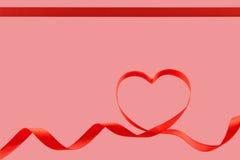 Coeur de bande de Valentines Image stock