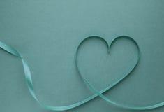 Coeur de bande verte Images libres de droits