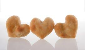 Coeur de biscuits   Photographie stock libre de droits
