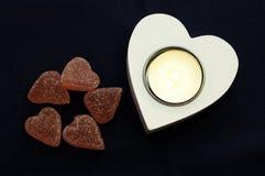 Coeur de bonbons Photographie stock libre de droits