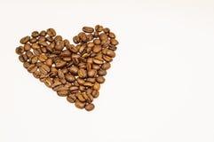 Coeur de café Photographie stock libre de droits
