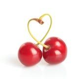 Coeur de cerise Photographie stock libre de droits