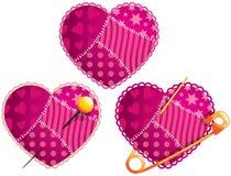 Coeur de chiffon Image stock