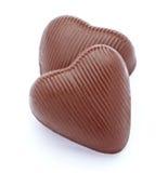 Coeur de chocolat Photos libres de droits