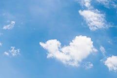Coeur de ciel très beau en Thaïlande Images stock