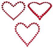 Coeur de coeurs Photos stock