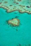 Coeur de corail Photos libres de droits