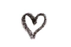 Coeur de crayon Photo libre de droits