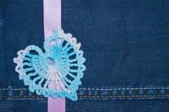 Coeur de crochet Image libre de droits