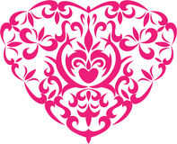 Coeur de décoration Image stock