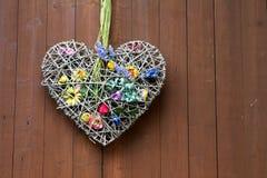 Coeur de décoration photos libres de droits