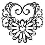 Coeur de Deco illustration stock