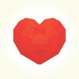 Coeur de diamant Photo stock