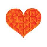 Coeur de diamant Photos libres de droits