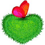 Coeur de fines herbes Photos libres de droits