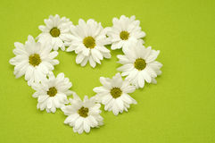 Coeur de fleur Photo libre de droits