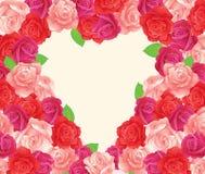 Coeur de fleur Images stock