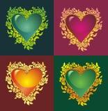 Coeur de floraison Photos stock